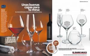 Campaña de Promoción en Prensa | Copas | Diario Vasco | Promociones HAIZEA