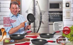 Campaña de Promoción en Prensa | Sartenes Berasategui | Diario Vasco | Promociones HAIZEA