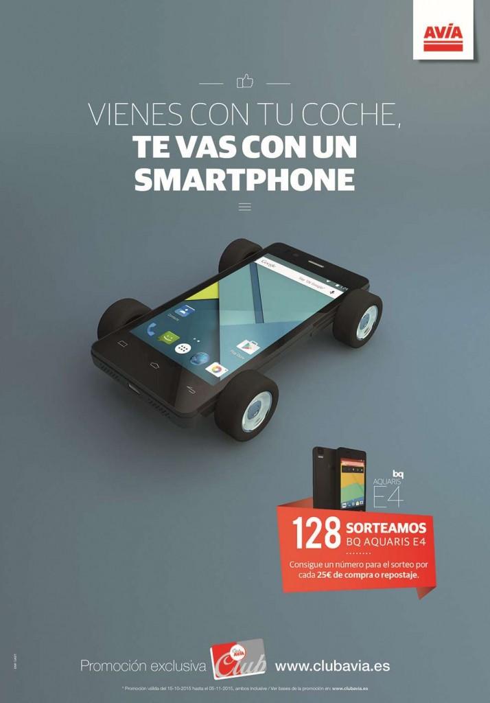 Smartphone BQ | Campañas de Regalos y Sorteos Club AVIA | Promociones Haizea