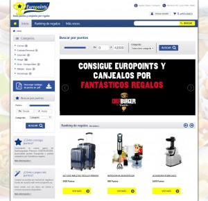 Programa de Incentivación con Catálogo de Puntos Europoints | Promociones Haizea