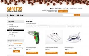 Programa de Incentivación con Catálogo de Puntos Kafetos | Promociones Haizea